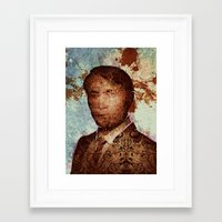 hannibal Framed Art Prints featuring Hannibal by András Récze