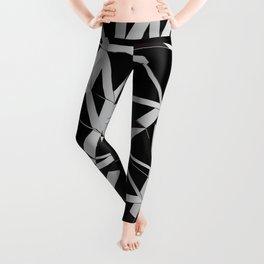 3D Futuristic GEO Lines V Leggings