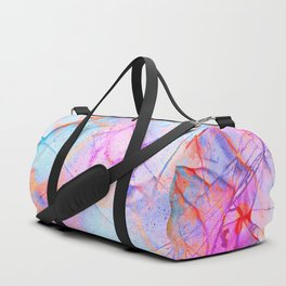 Graffiti Candy Marble Pattern Duffle Bag