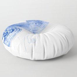 Water Nymph XLVII Floor Pillow
