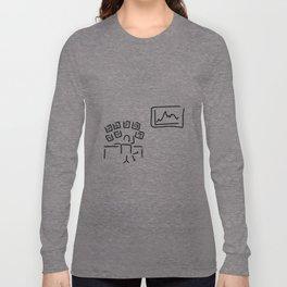 stock exchange stockbroker fund manager Long Sleeve T-shirt