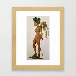 """Kintsukuroi or """"golden repair"""" Framed Art Print"""
