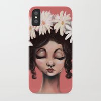 daisies iPhone & iPod Cases featuring Daisies by Jaleesa McLean