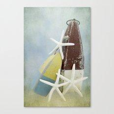 Buoys and Starfish Canvas Print