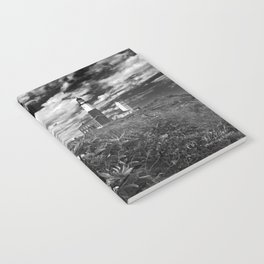 "Montauk Point Lighthouse ""The end"" Notebook"