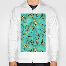 GOLD TURQUOISE Hoody