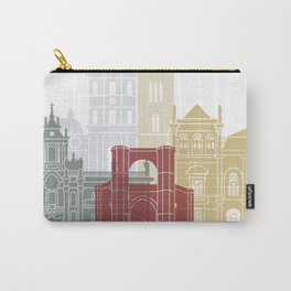 Valladolid skyline poster Carry-All Pouch