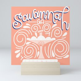 Savannah: Pink Mini Art Print