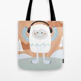 Jammin' Yeti Tote Bag