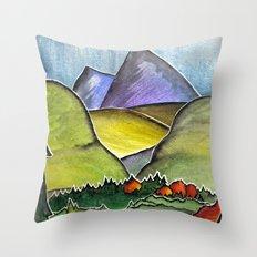 Forest Print. Throw Pillow