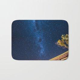 Milky Way Bridge Bath Mat