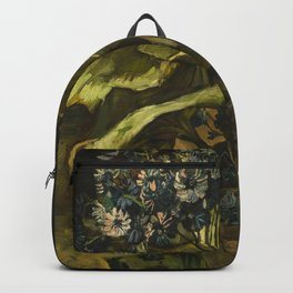 Cineraria by Vincent van Gogh Backpack