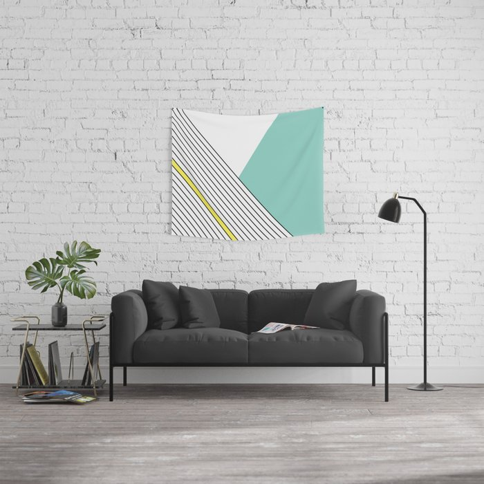 MINIMAL COMPLEXITY Wall Tapestry