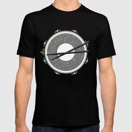 Drum with drumsticks T-shirt