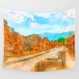 Pompei, Italy Wall Tapestry