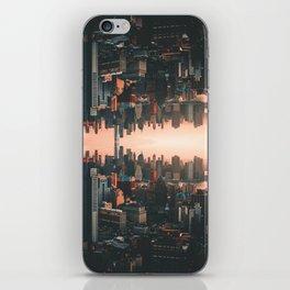 New York City Skyline Surreal iPhone Skin