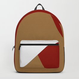 Abstract modern print 3 Backpack