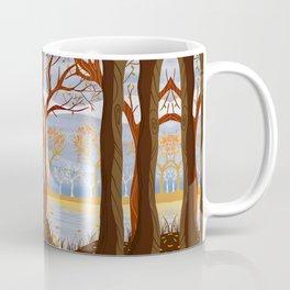 Autumn Leaves Autumn Woods Coffee Mug