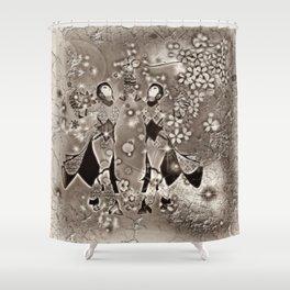 Tanz der Geishas Shower Curtain
