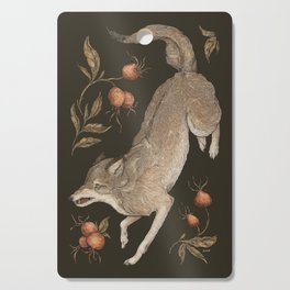 The Wolf and Rose Hips Cutting Board