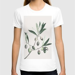 Olive Tree Branch T-shirt