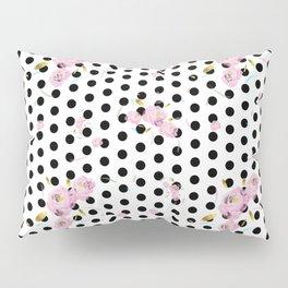 Floral Dot Pillow Sham