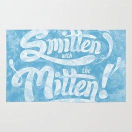 Smitten with the Mitten (Blue Version) Rug