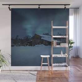 Winter finds out what summer lays up. Wall Mural