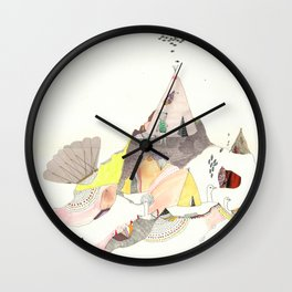 Kids Discover Magic Mountain Wall Clock