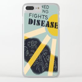 Vintage poster - Planned Housing Fights Disease Clear iPhone Case