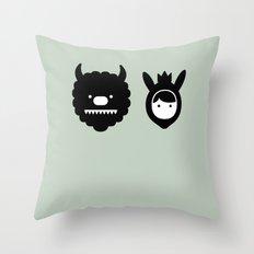 Carol & Max Throw Pillow