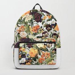 Floral E Backpack