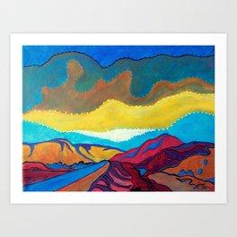 Mini Desert 3 Art Print
