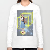 thrones Long Sleeve T-shirts featuring Yellow brick road by Laura Nadeszhda