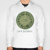 calendar Hoodies featuring Mayan Calendar 2012 by Bob Pestana
