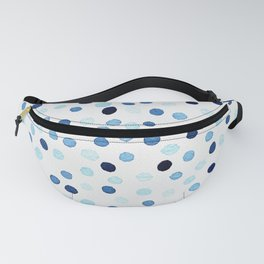 New confetti dots in blue Fanny Pack