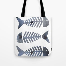 Fish Trio Tote Bag