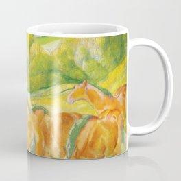 """Franz Marc """"Large Landscape I (Landschaft I)"""" Coffee Mug"""