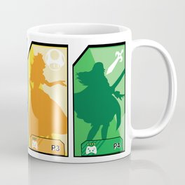 Super Smash Brothers The 4 Ultimate Waifu Girls Coffee Mug