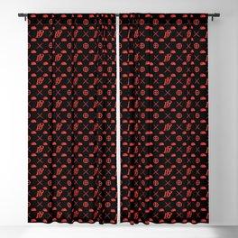 DP pattern Blackout Curtain