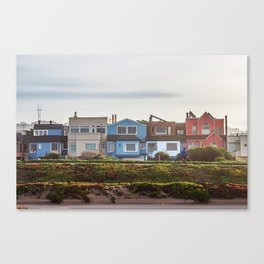 The Sunset District Canvas Print