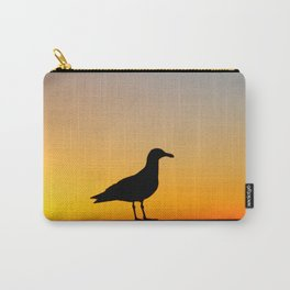 Seagull Sunset Carry-All Pouch