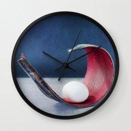 SECURE | REDBLUE Wall Clock