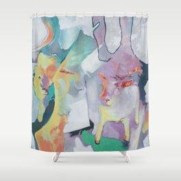 Arcade Shower Curtain