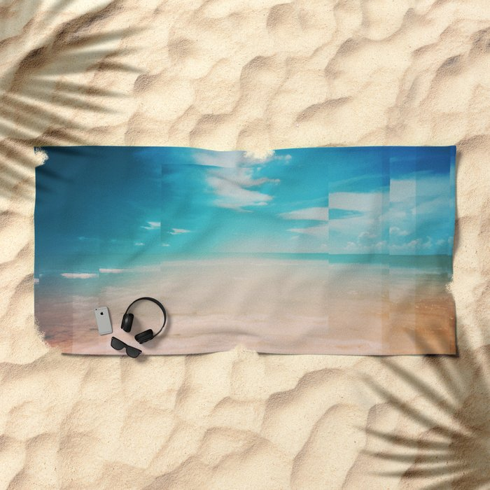 Fractions A26 Beach Towel