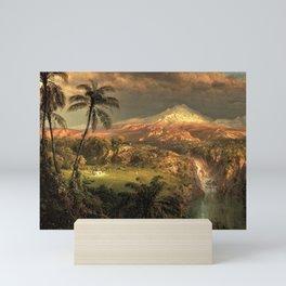 Passing Shower in the Tropics by Frederic Edwin Church Mini Art Print