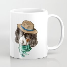 Hipster Spaniel Coffee Mug