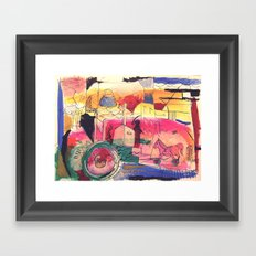 Procreazione Framed Art Print