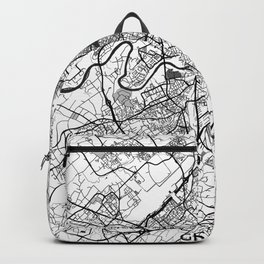 Geneva Map Gray Backpack
