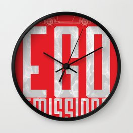 Tesla - Ego Emissions Wall Clock